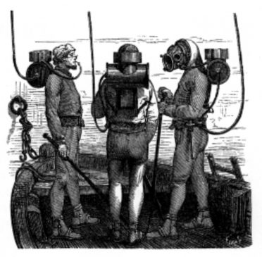 History of Scuba diving - the far past
