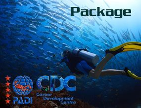 PADI Scuba Diving Phuket Course Packages touch menu