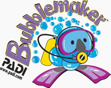 PADI Scuba Diving Courses for kids logo