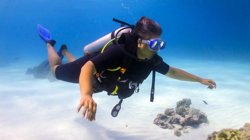 Discover Scuba Diving with All4Diving at Racha