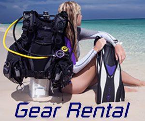 SCUBA Gear rental