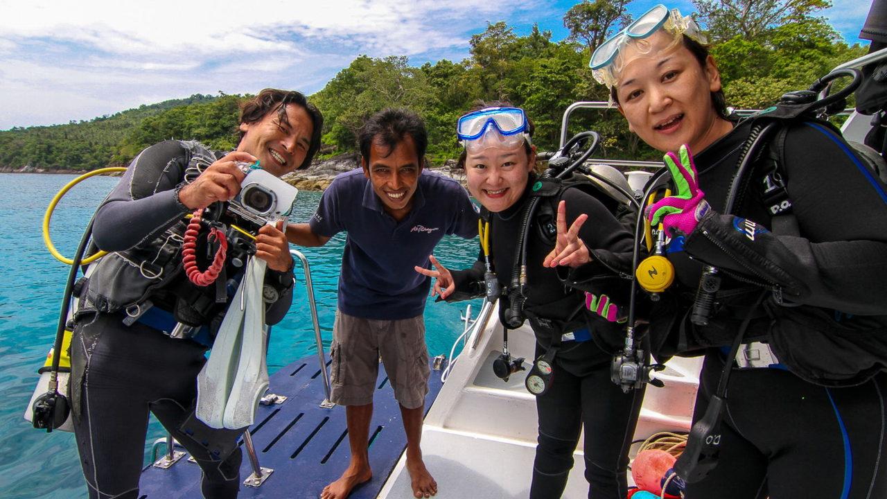 MV Mermaid - Scuba diving - Phuket dive trips 11