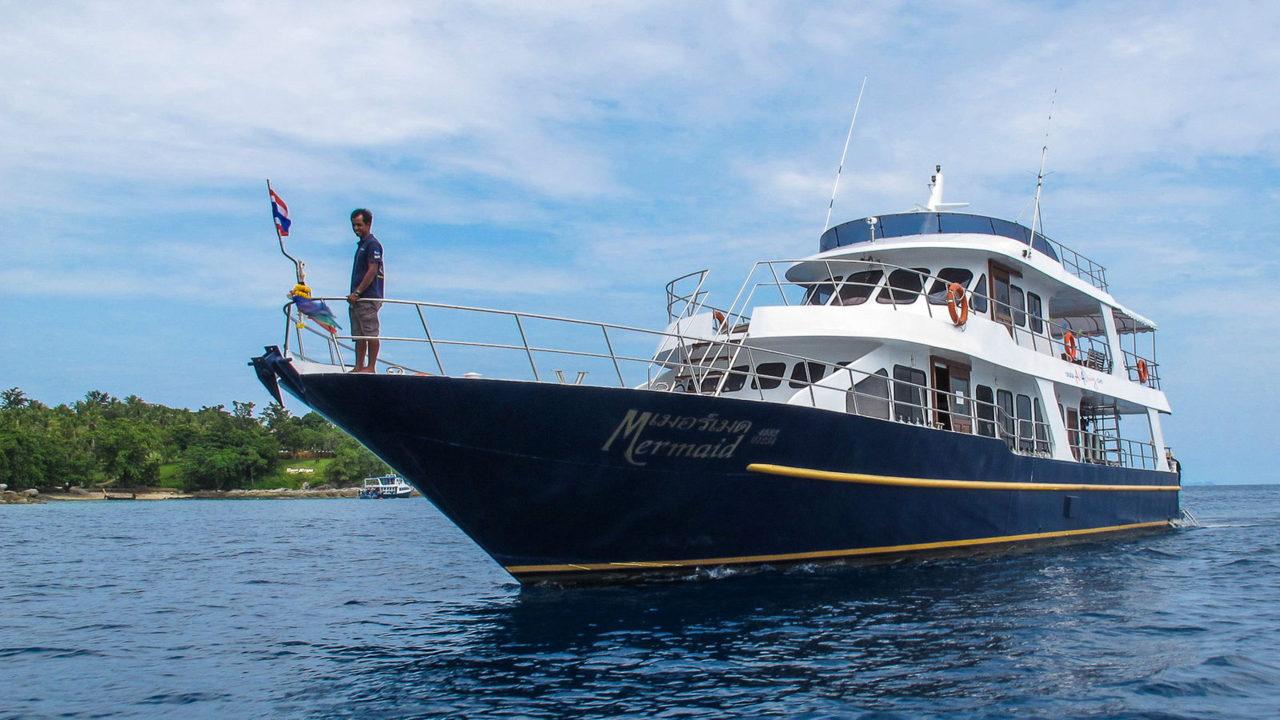 MV Mermaid - Scuba diving - Phuket dive trips 17
