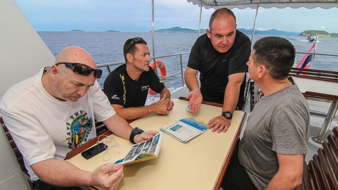 MV Mermaid - Scuba diving - Phuket dive trips 01