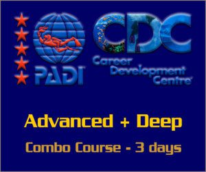 PADI Combo Advanced with Deep course