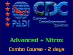 PADI Combo Advanced with Nitrox course