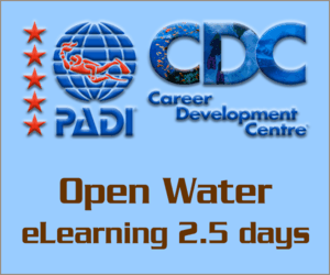 PADI Open Water eLearning course