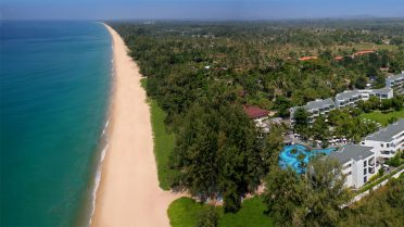 All4Diving - Mai Khao Beach aerial view - Phuket Island 01