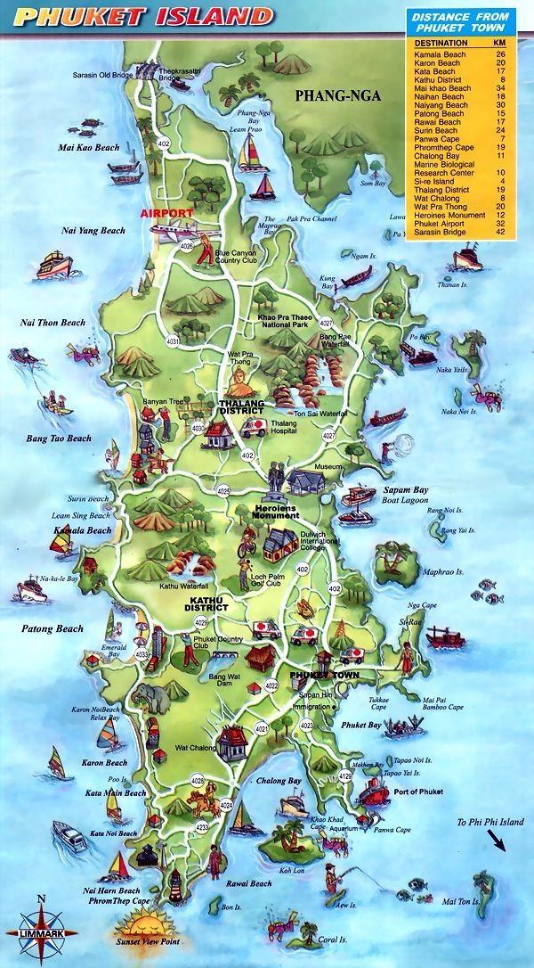 All4Diving Phuket Island Thailand Tropical Destination