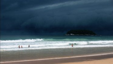 Scuba Diving Phuket - Stormy Weather in the Andaman Sea