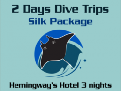 2 Days Dive trips Silk Package