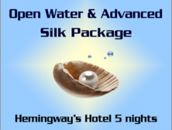 Open Water and Advanced course Silk Package