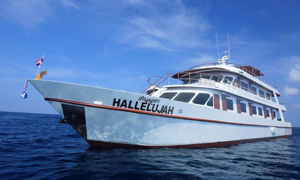 Scuba Diving Phuket - MV Hallelujah Liveaboard diving Similan islands with All4Diving