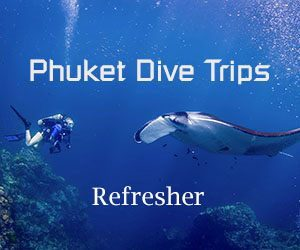 Phuket dive trips Scuba Refresher program